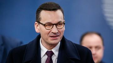 """""""To najtrudniejsze z negocjacji budżetowych"""". Morawiecki o obradach UE27"""