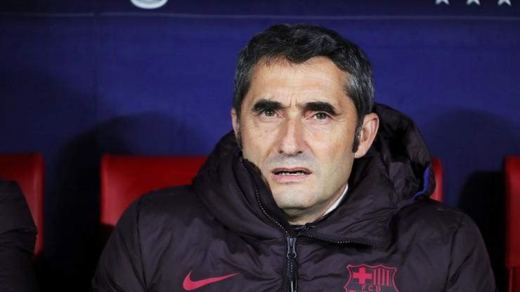 Valverde zwolniony z Barcelony!