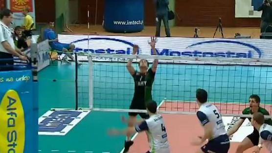AZS Politechnika Warszawska - Fart Kielce set 3, PlusLiga