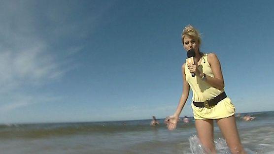 Agnieszka Popielewicz odkrywa tajemnice siatkówki plażowej