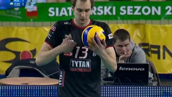 Fart Kielce - Tytan AZS Częstochowa set 3, PlusLiga