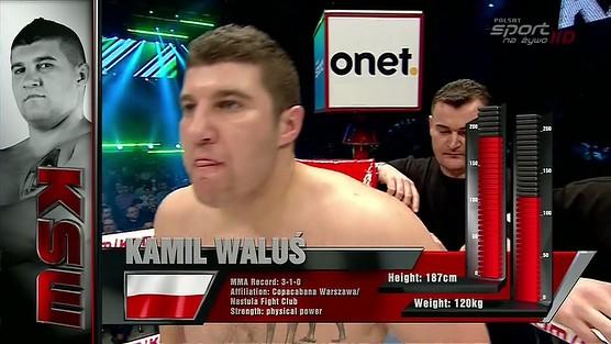 Kamil Waluś - Christof Piliafas