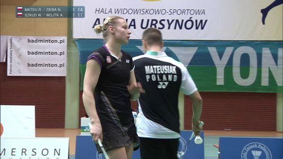 Robert Mateusiak-Nadiezda Zięba (POL) - Wojciech Szkudlarczyk-Agnieszka Wojtkowska (POL)