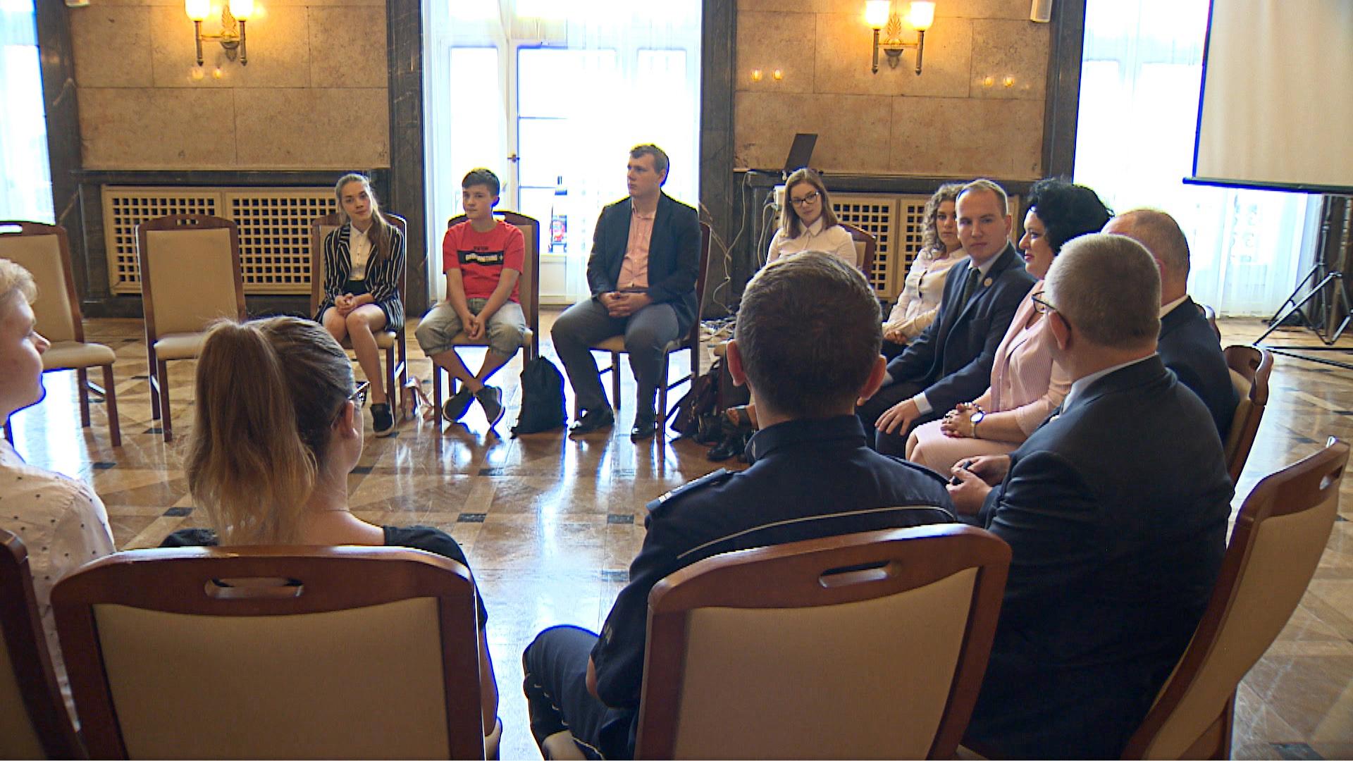 Spotkanie wiceministra Andruszkiewicza w Katowicach