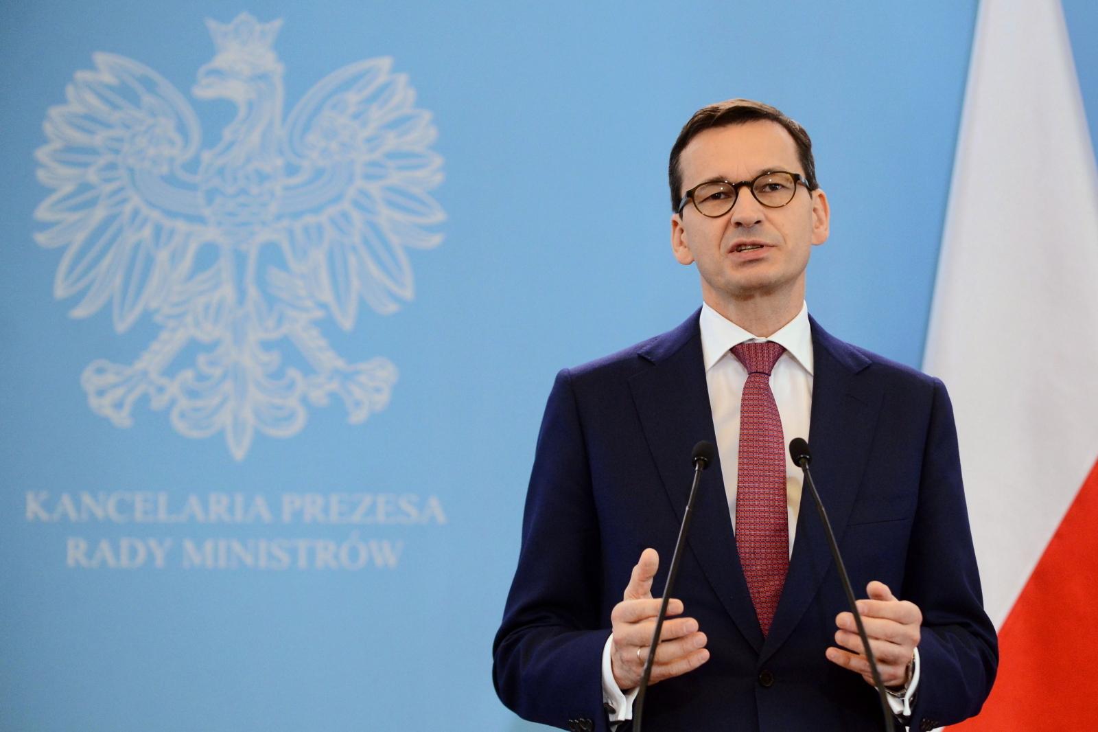"""Mateusz Morawiecki o artykule """"Gazety Wyborczej"""""""