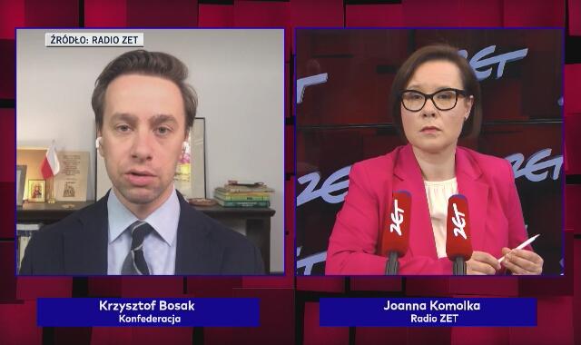 Bosak: Paszporty covidowe to jest kolejna rzecz sprzeczna z konstytucją