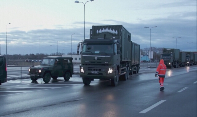 Wojskowy szpital polowy uruchomiono na jednej z wysp Estonii dotkniętej epidemią