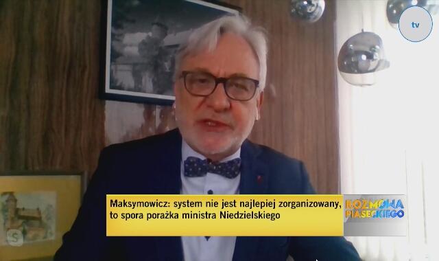 Prof. Wojciech Maksymowicz o potrzebie wprowadzenia stanu klęski żywiołowej