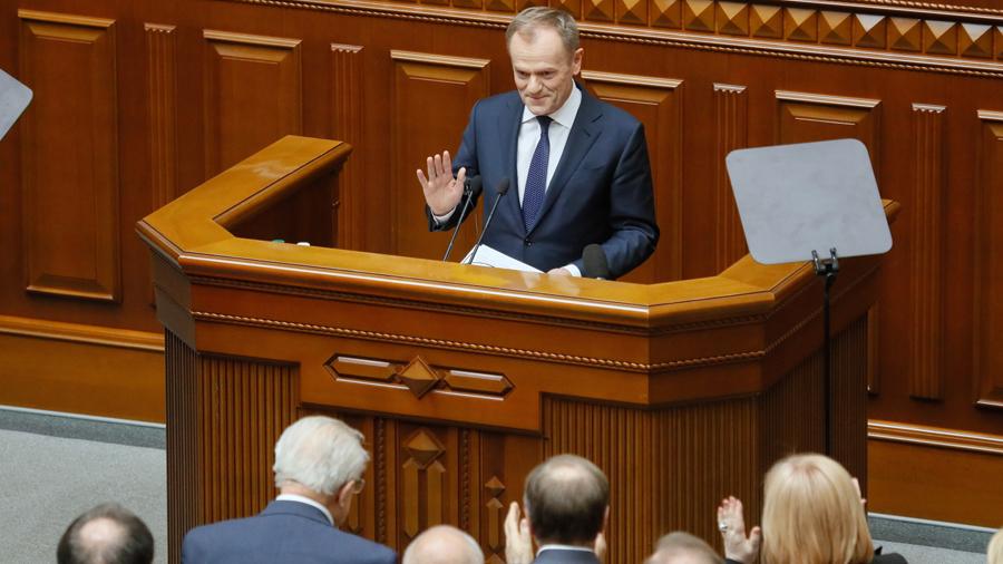 """""""Nie ma bezpiecznej Europy bez bezpiecznej Ukrainy"""""""