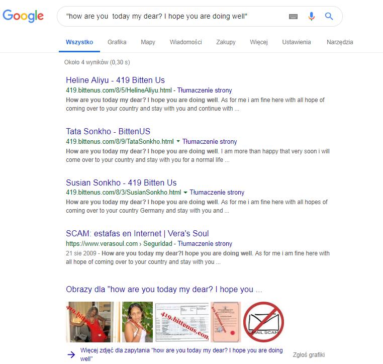 Serwisy randkowe używające fałszywych profili