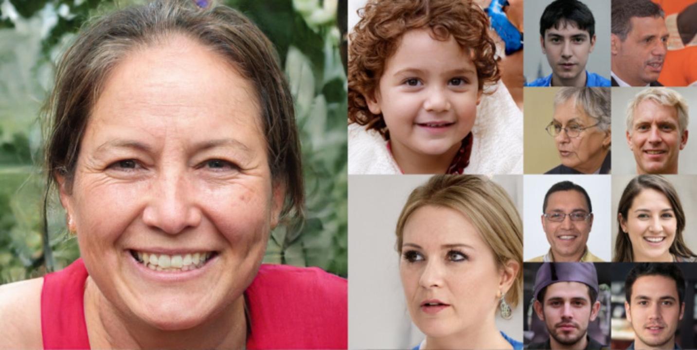 Portrety nieistniejących ludzi, stworzone przez naukowców Nvidia