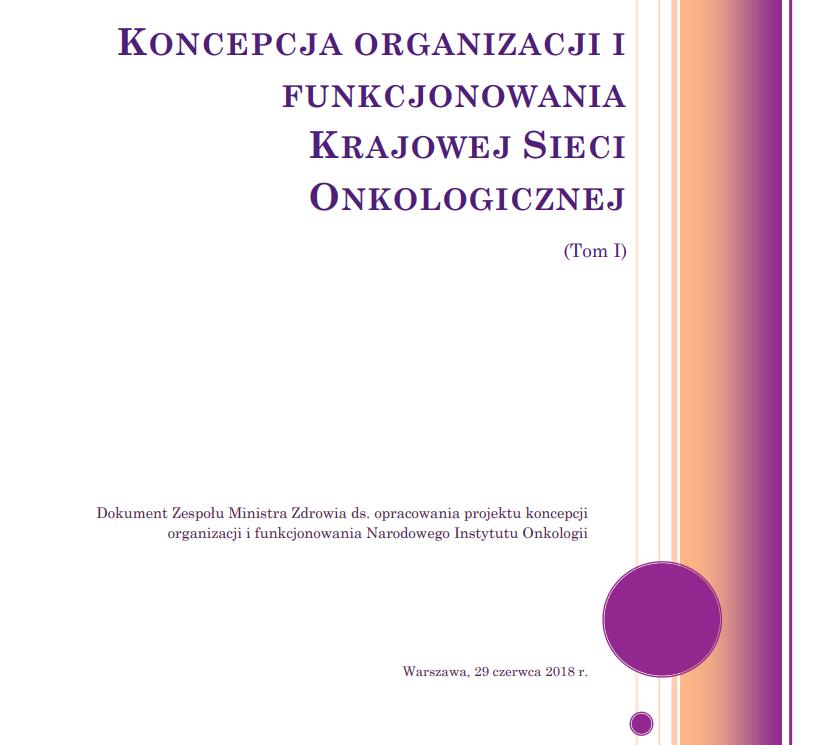 Pierwsza strona opublikowanego dokumentu