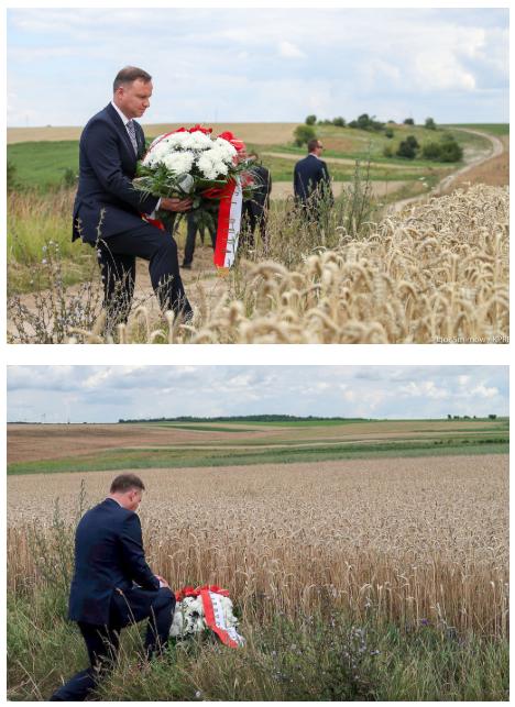 Prezydent Andrzej Duda na Wołyniu