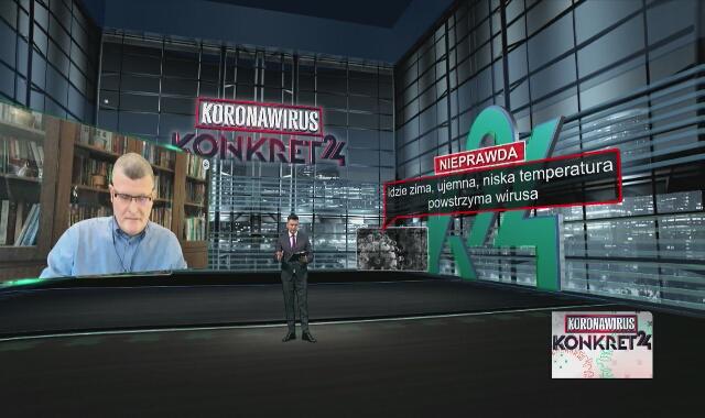 Grzesiowski: Ani upały, ani mrozy nie powstrzymują wirusa