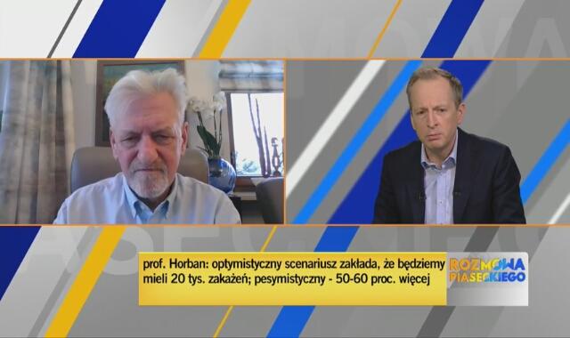 Prof. Andrzej Horban o przerwaniu szczepień nauczycieli