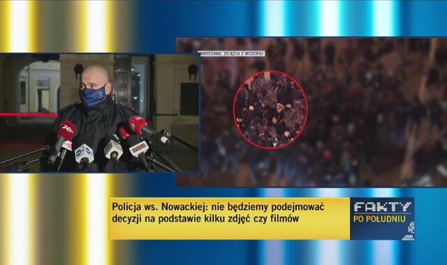 Rzecznik stołecznej policji o interwencji wobec posłanki Barbary Nowackiej