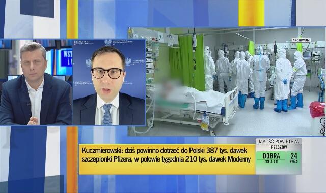 """Michał Kuczmierowski o szczepionkach """"na czarną godzinę"""""""