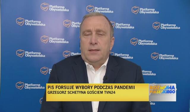 Grzegorz Schetyna o organizacji wyborów