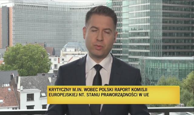 Maciej Sokołowski o krytycznym m.in. wobec Polski raporcie KE na temat stanu praworządności
