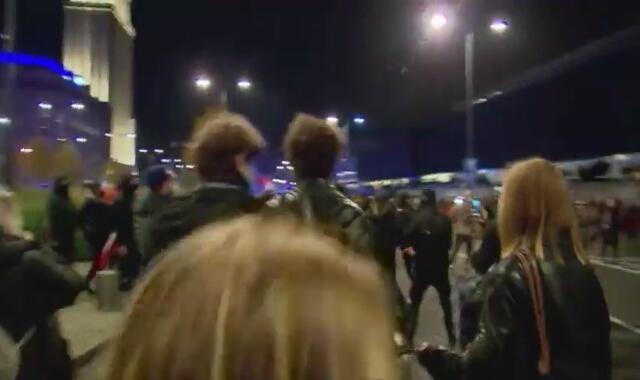 Działania policjantów w cywilu podczas środowego protestu