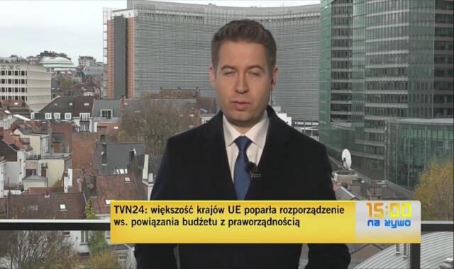 TVN24: większość krajów UE poparła rozporządzenie ws. powiązania budżetu z praworządnością