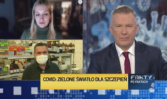 Profesor Marcin Drąg o procesie szczepienia Polaków: technologicznie nie jest to jakieś wyzwanie