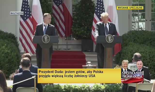 Donald Trump o współpracy z Polską w walce z koronawirusem