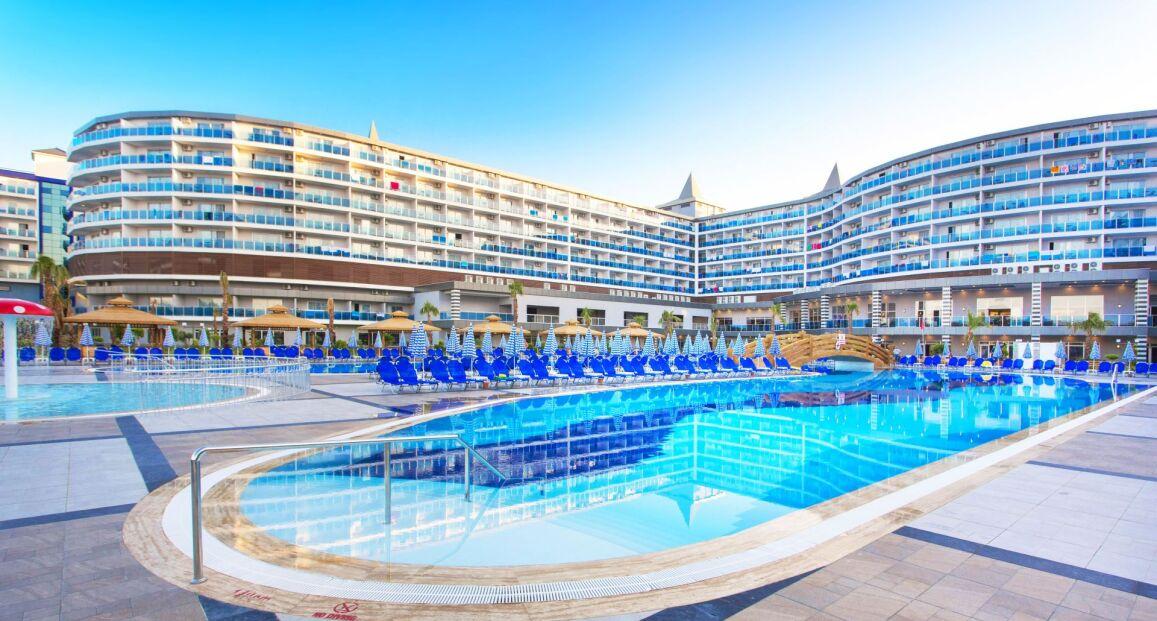 Eftalia Ocean Resort Riwiera Turecka Turcja Opis Hotelu Tui