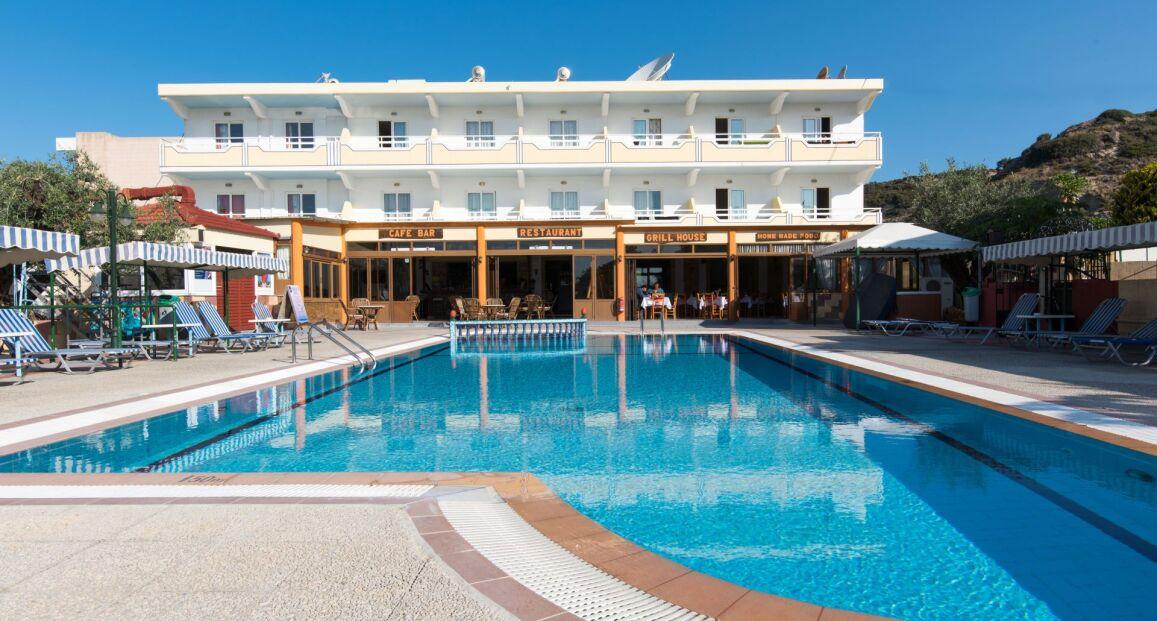 Hotel Georgia Apartments - Rodos - Grecja